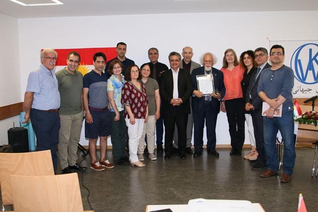 WKO ehrt Dr. Golmorad Moradi